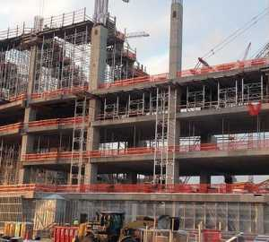 October construction starts drop 9%